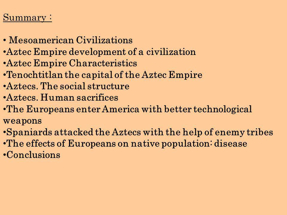 A brief history of the Aztec empire