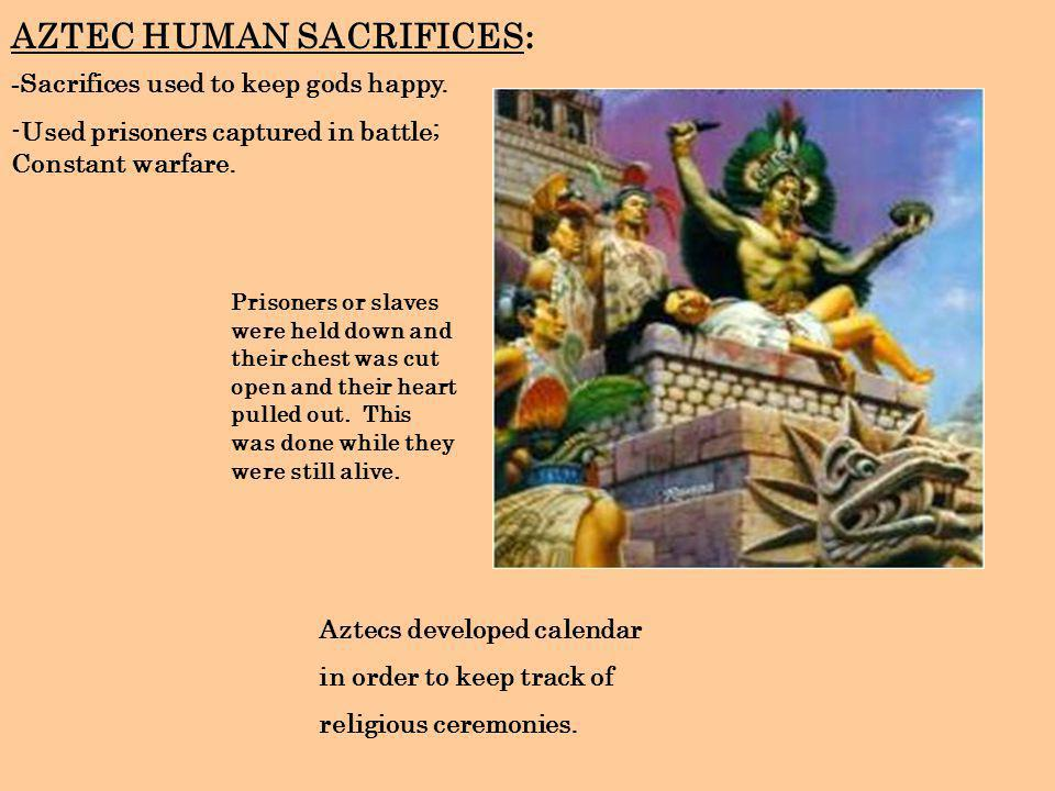 AZTEC HUMAN SACRIFICES: