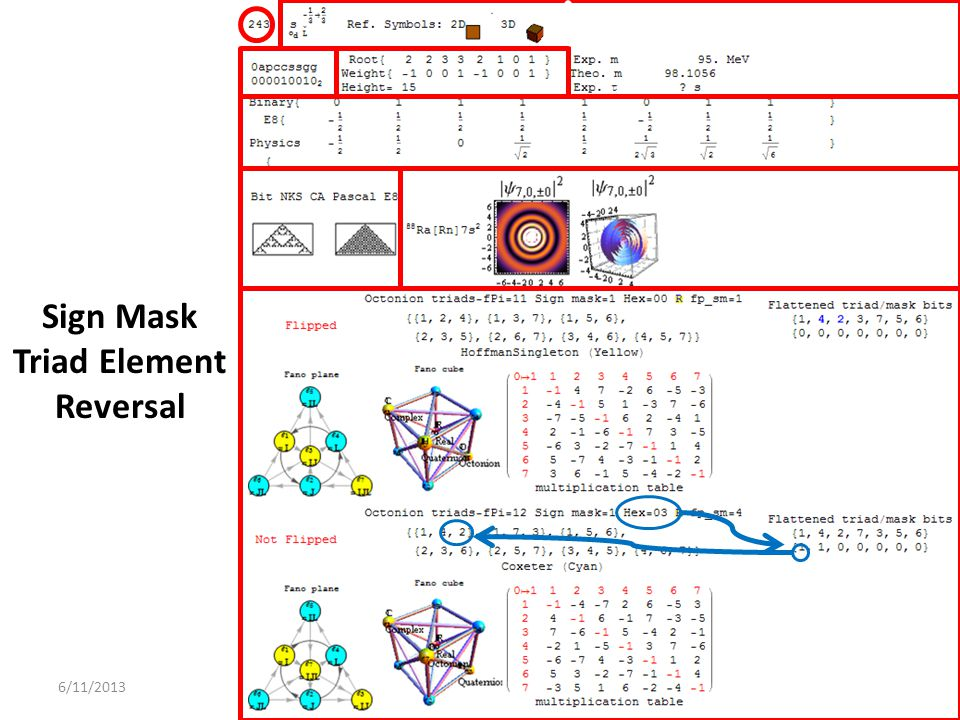 Sign Mask Triad Element Reversal