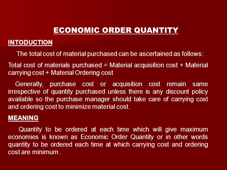 The total cost of material purchased can be ascertained as follows: