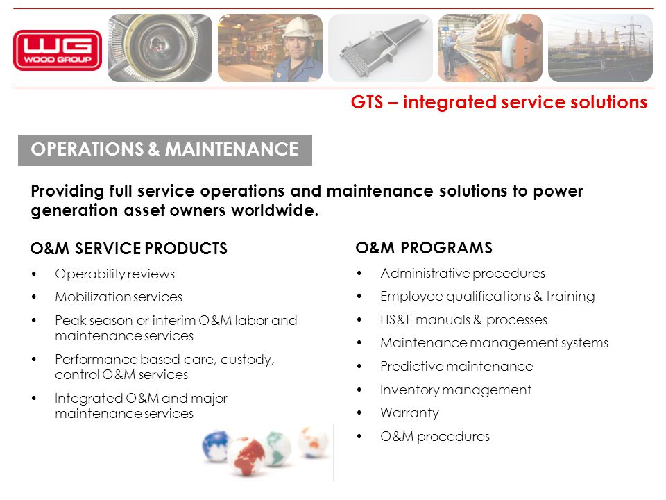 GTS – integrated service solutions