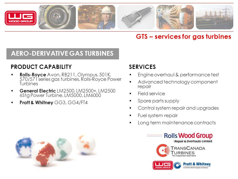 GTS – services for gas turbines