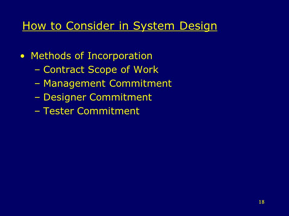 How to Consider in System Design