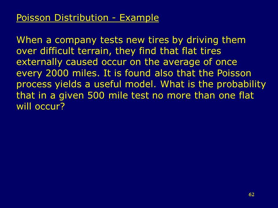 Poisson Distribution - Example