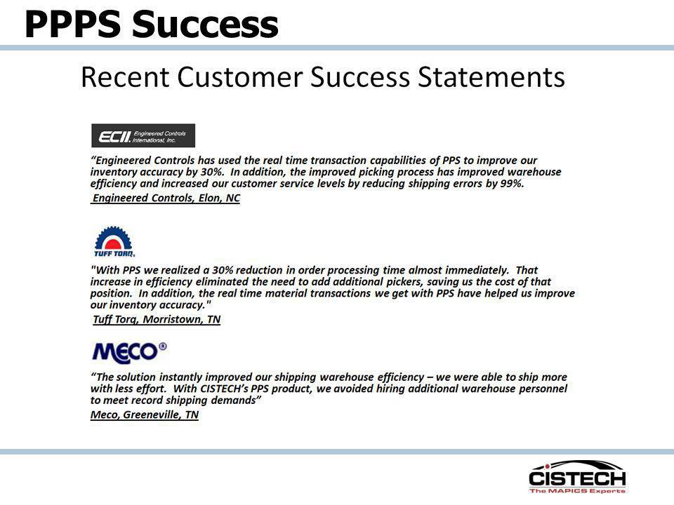 PPPS Success