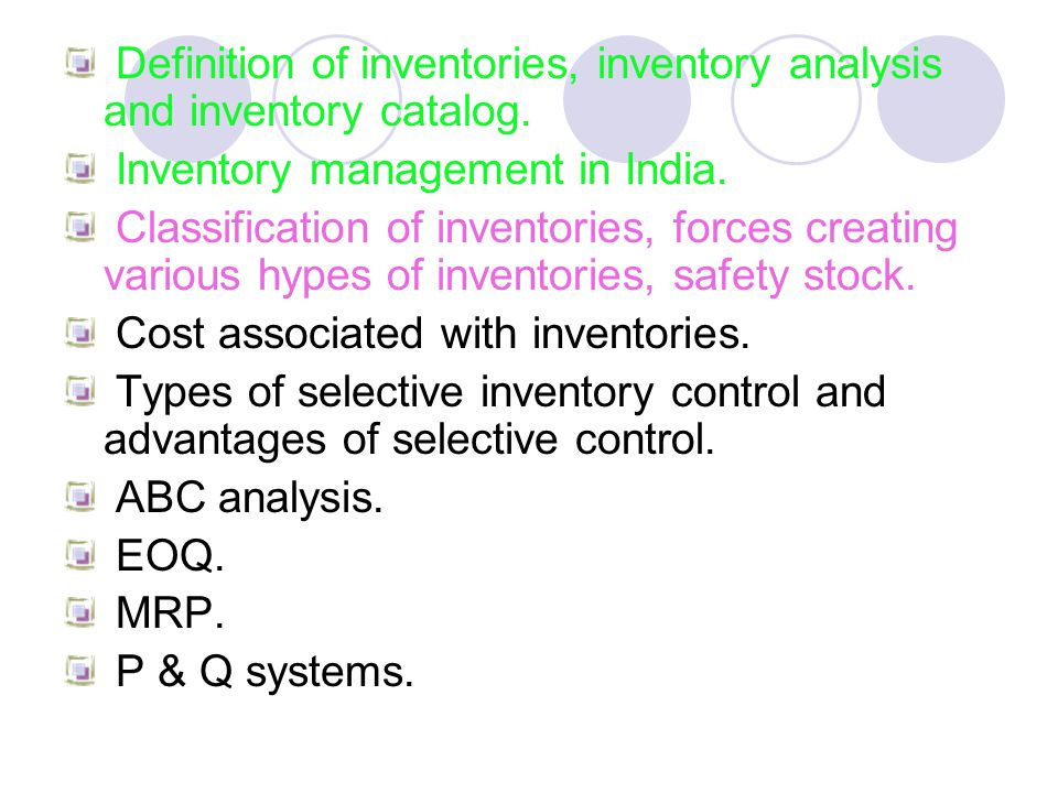 types of inventory system essays Inventory systems paper the four types of inventory systems that team a decided inventory system summary qrb/501 abstract inventory systems.
