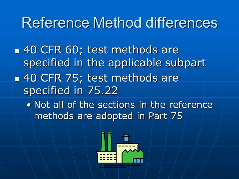 Reference Method differences