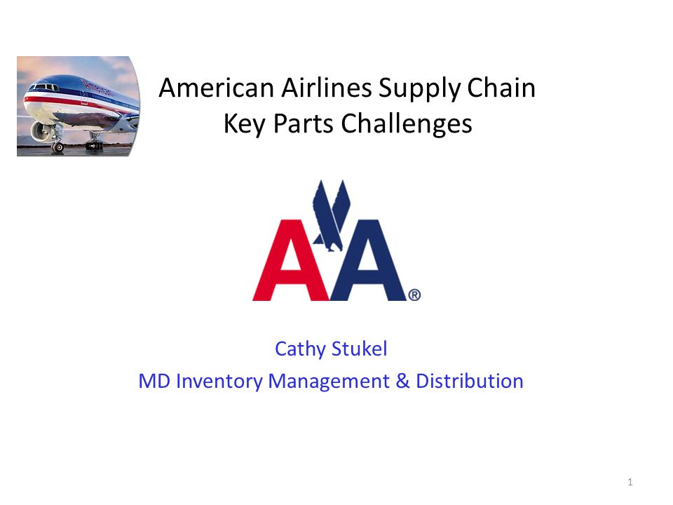 American Airlines Supply Chain Key Parts Challenges