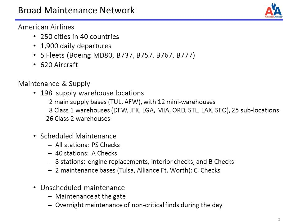 Broad Maintenance Network
