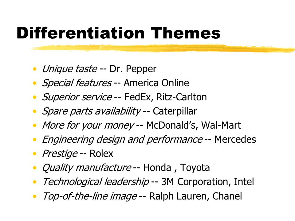 Differentiation Themes