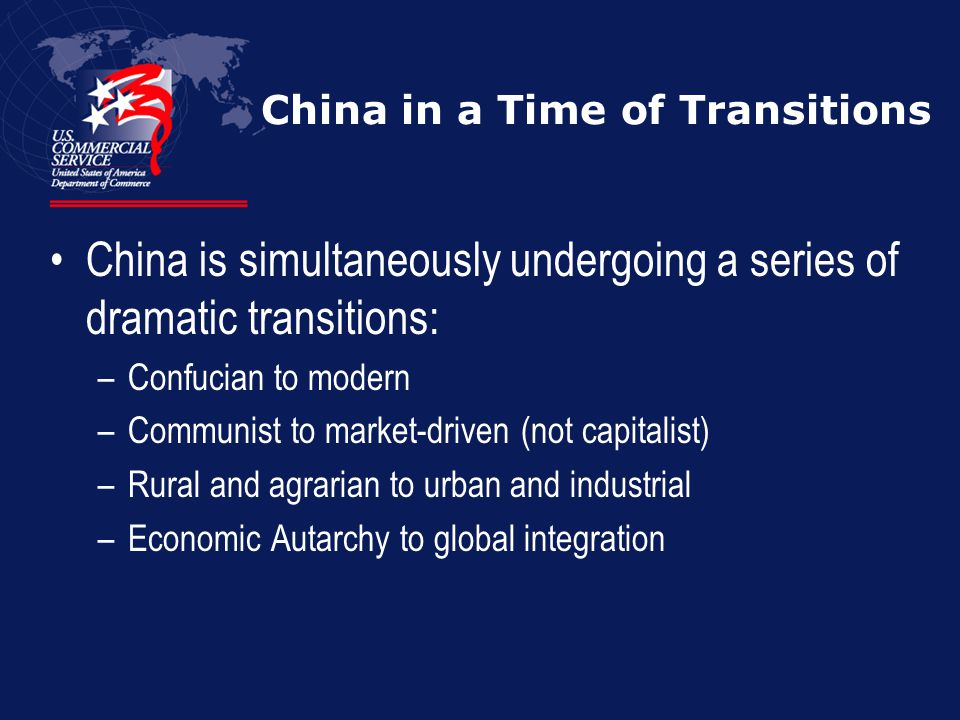China in a Time of Transitions