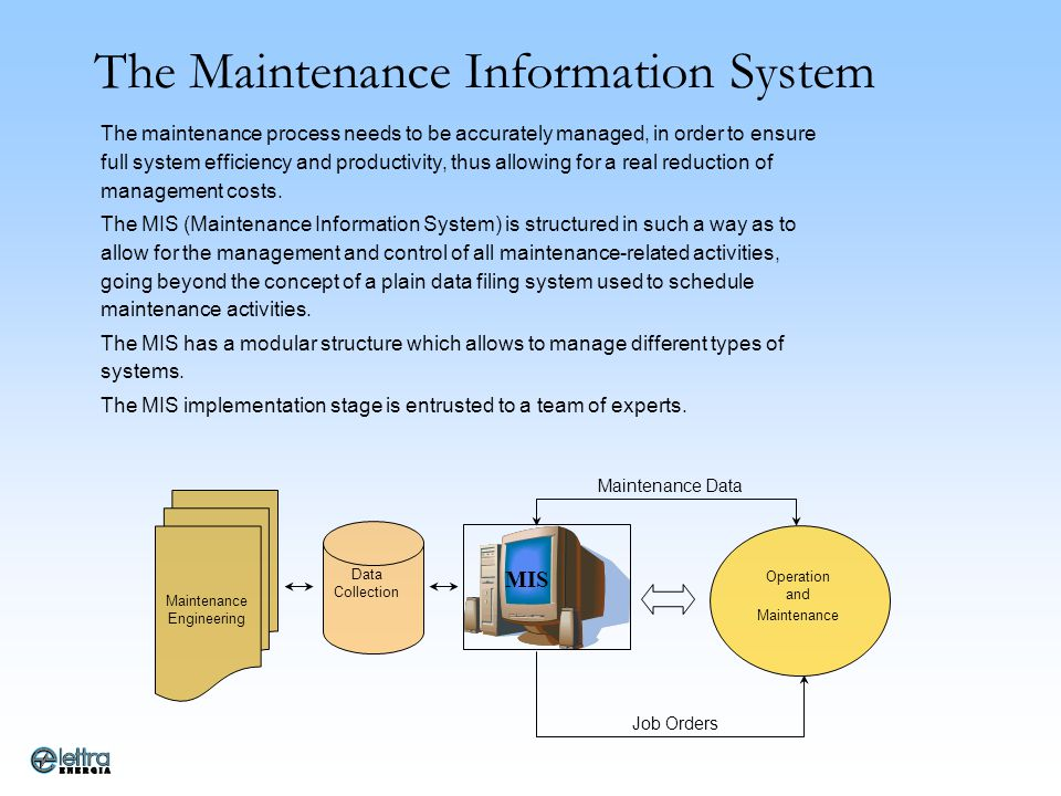 The Maintenance Information System