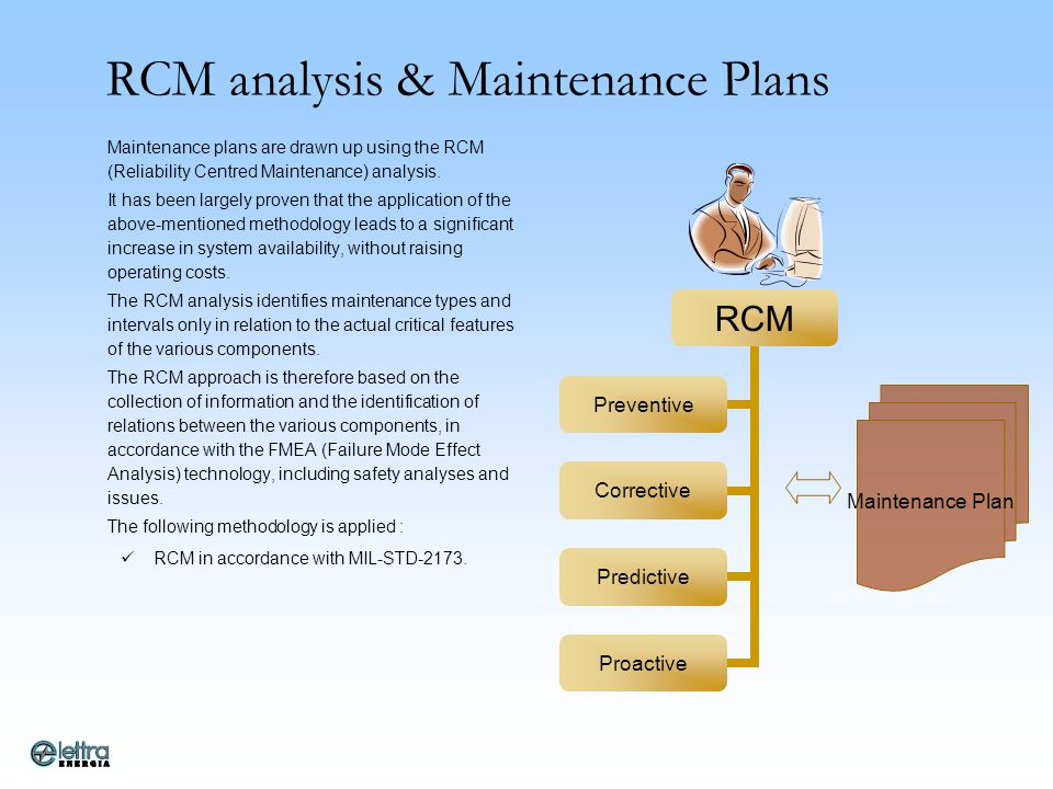 RCM analysis & Maintenance Plans