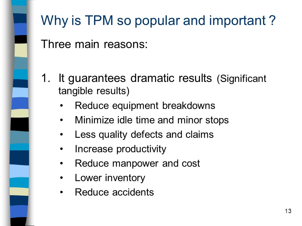 Why is TPM so popular and important