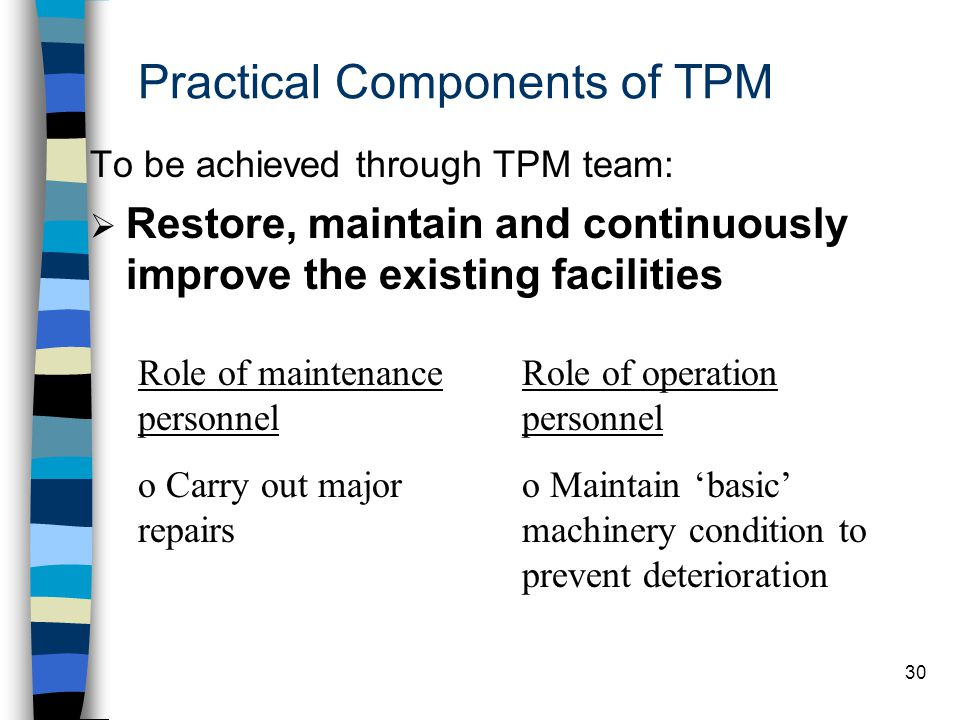 Practical Components of TPM