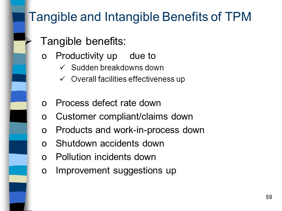 Tangible and Intangible Benefits of TPM