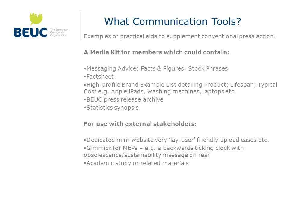What Communication Tools