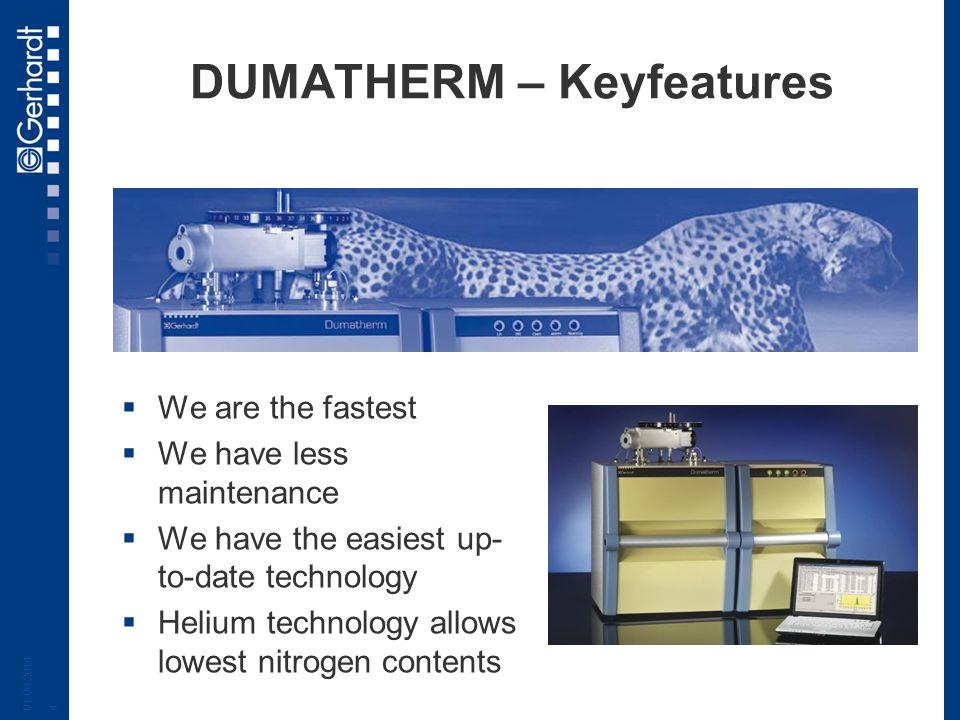 DUMATHERM – Keyfeatures