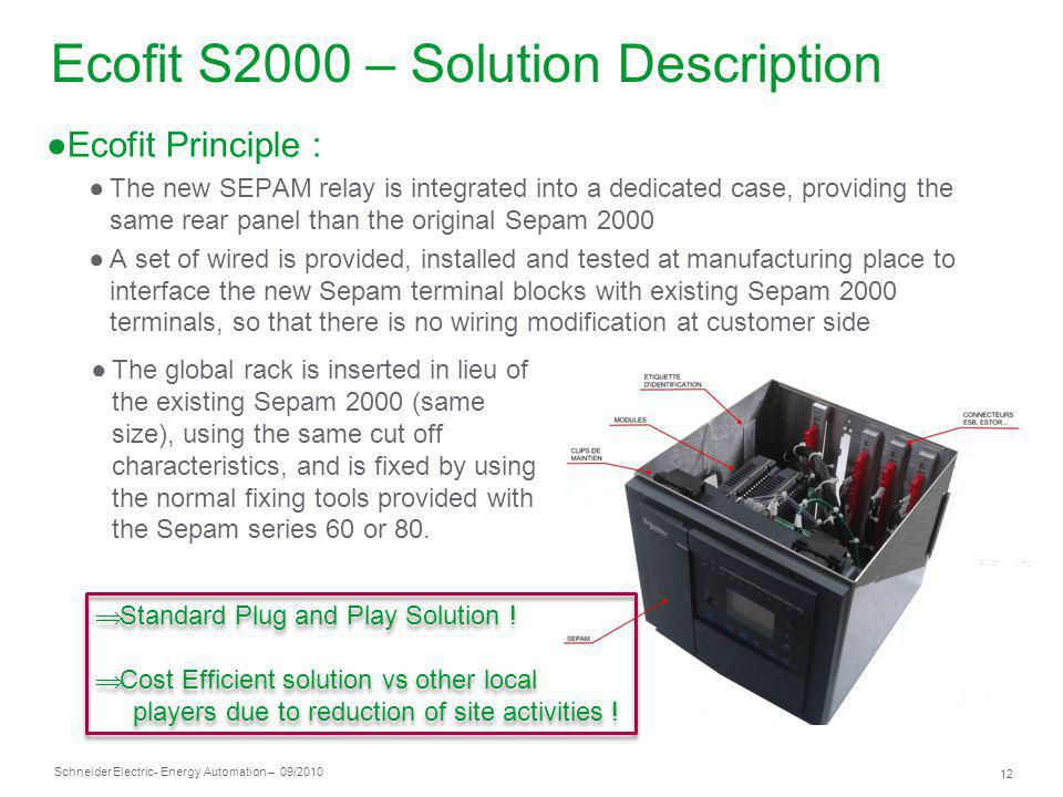 Ecofit S2000 – Solution Description