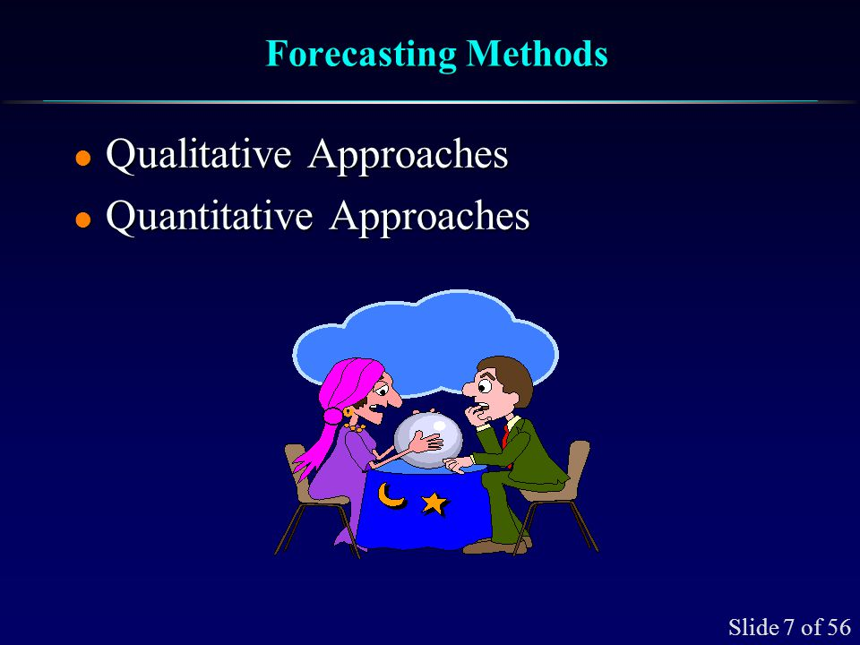 Qualitative Forecasting Applications Small and Large Firms