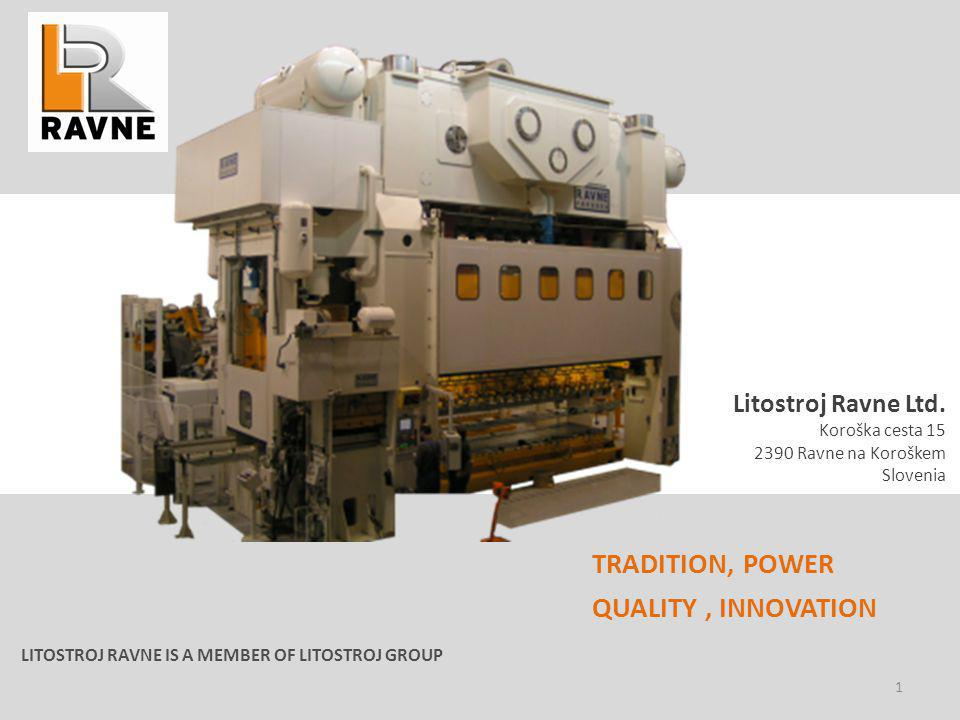 TRADITION, POWER QUALITY , INNOVATION