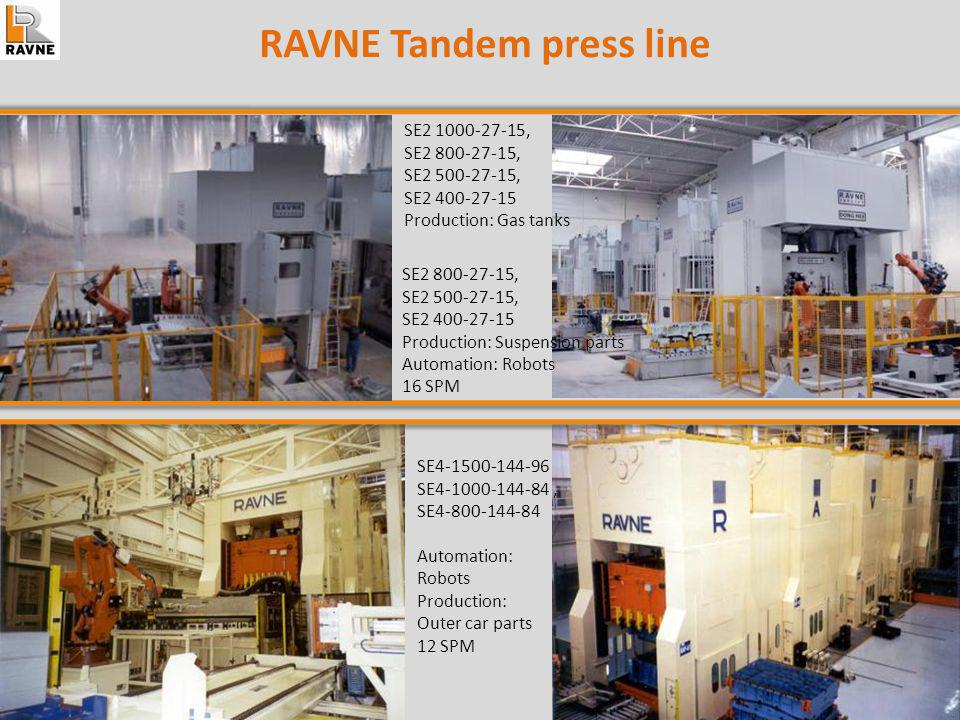 RAVNE Tandem press line