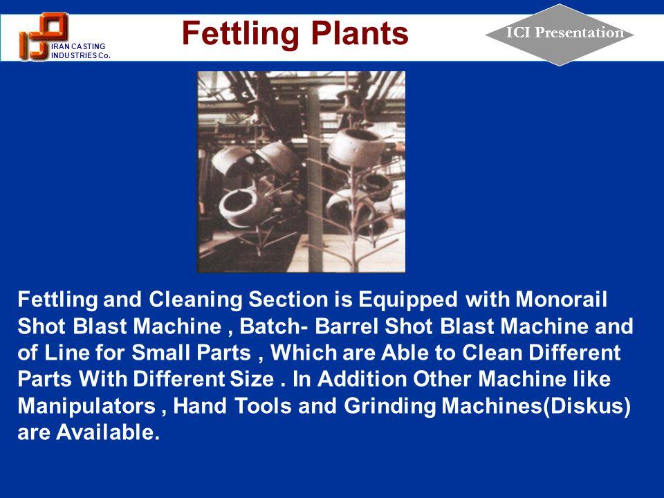 Fettling Plants