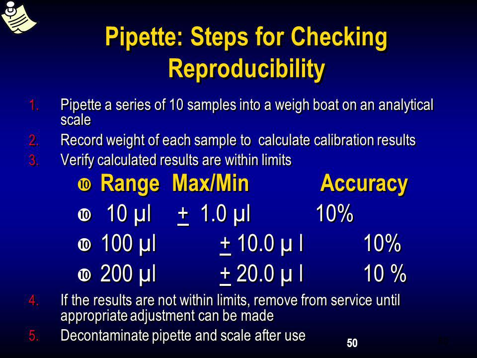 Pipette: Steps for Checking Reproducibility