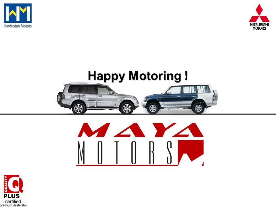 Happy Motoring !