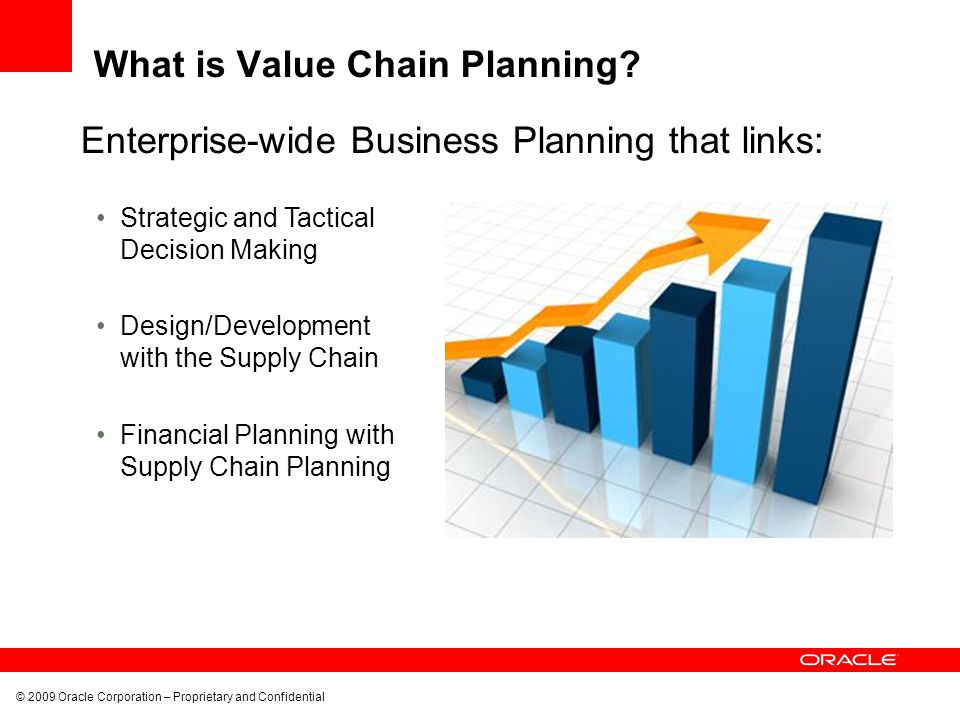 What is Value Chain Planning