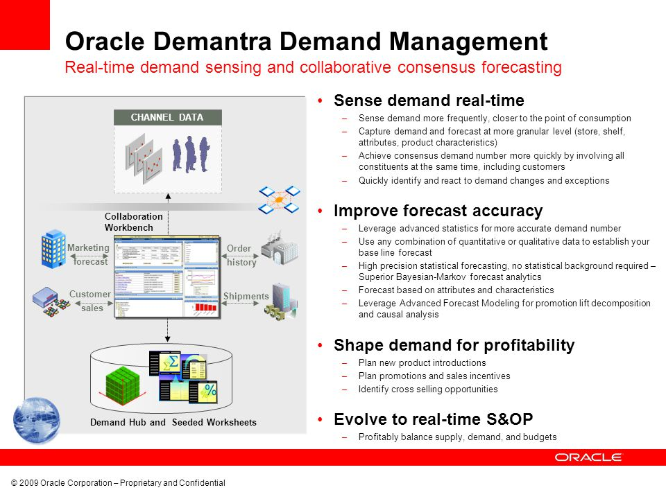 Oracle Demantra Demand Management