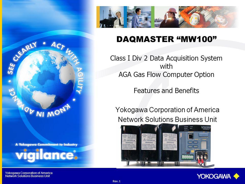 Yokogawa Corporation of America Network Solutions Business Unit