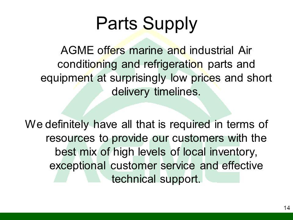 Parts Supply