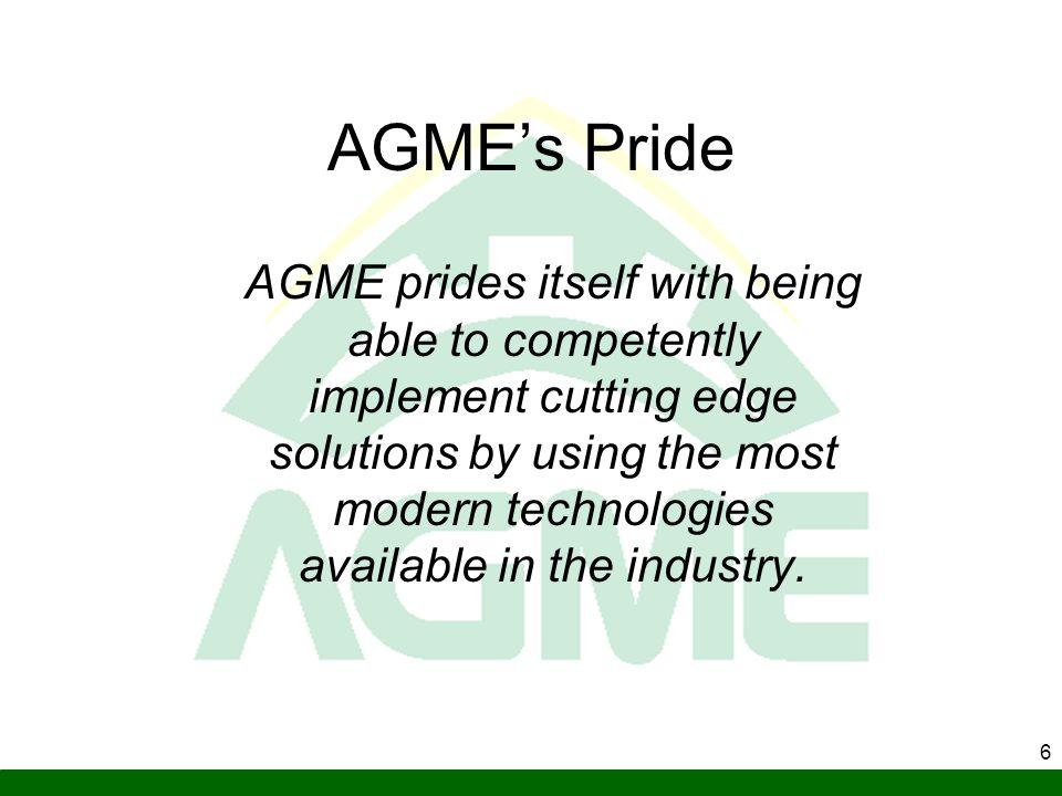 AGME's Pride