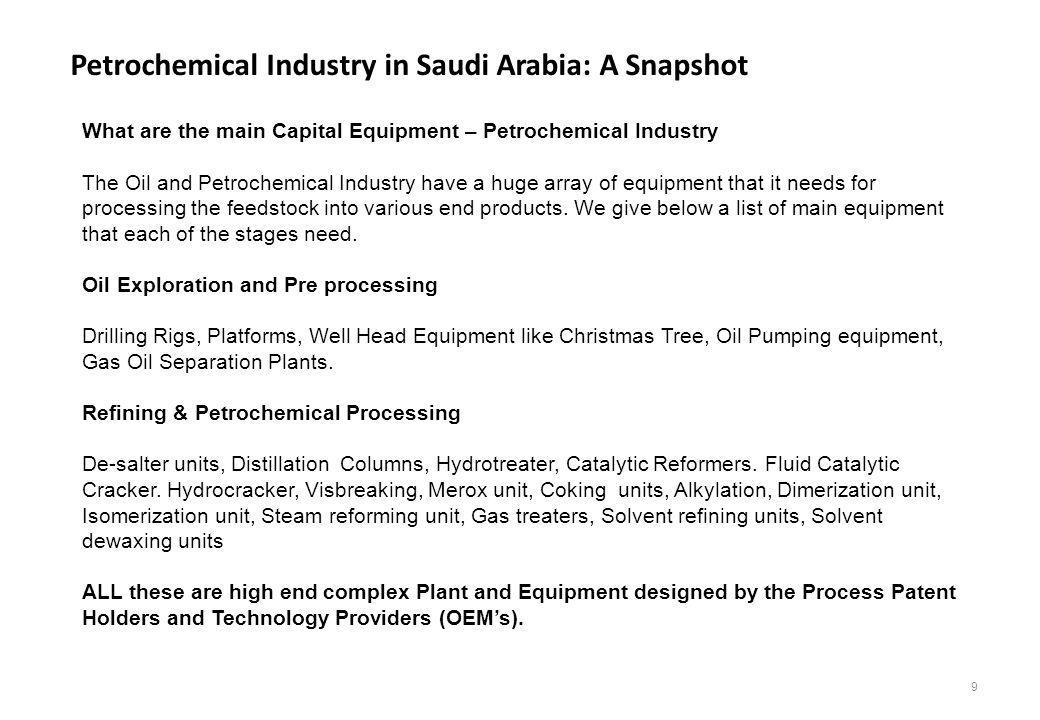 Petrochemical Industry in Saudi Arabia: A Snapshot