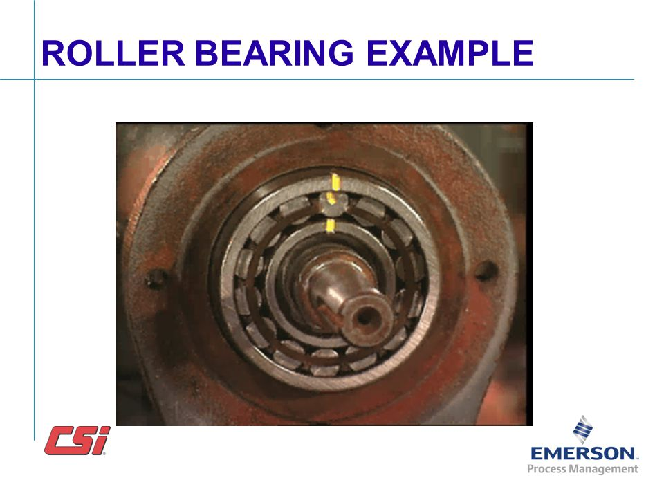 ROLLER BEARING EXAMPLE