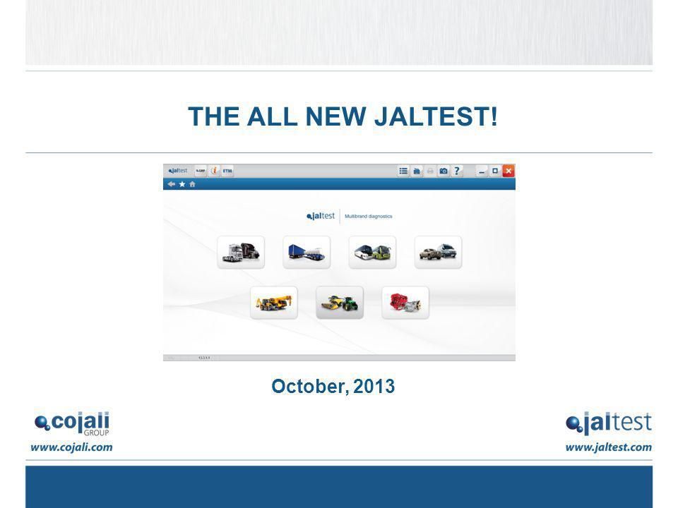 THE ALL NEW JALTEST! October, 2013
