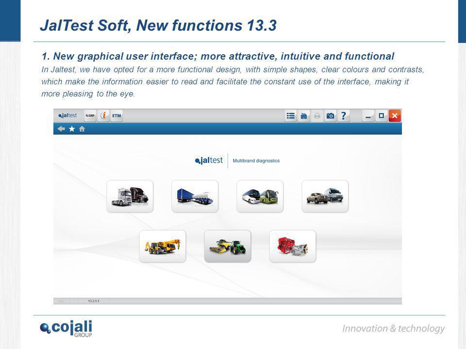 JalTest Soft, New functions 13.3