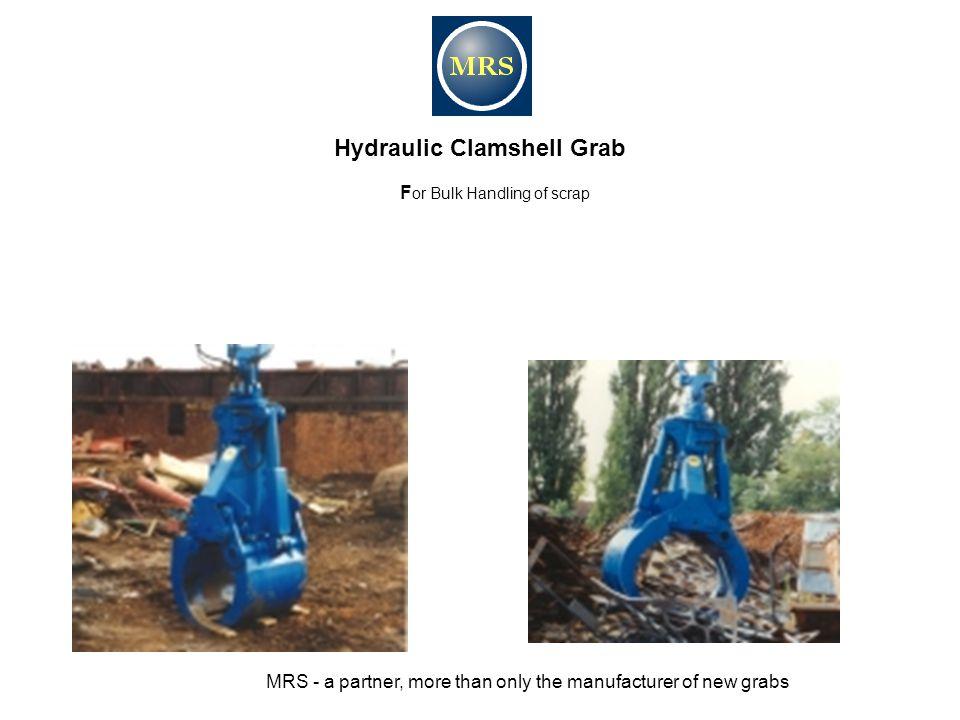 Hydraulic Clamshell Grab