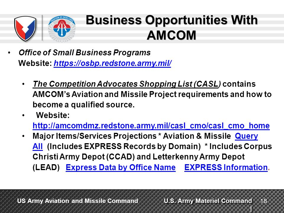 Business Opportunities With AMCOM