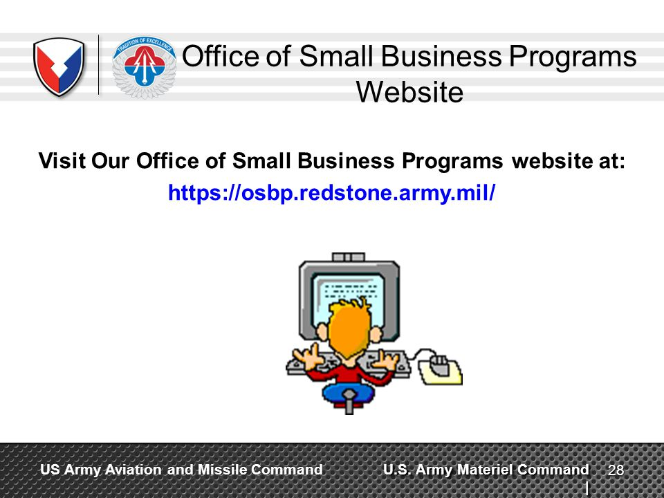 Office of Small Business Programs Website