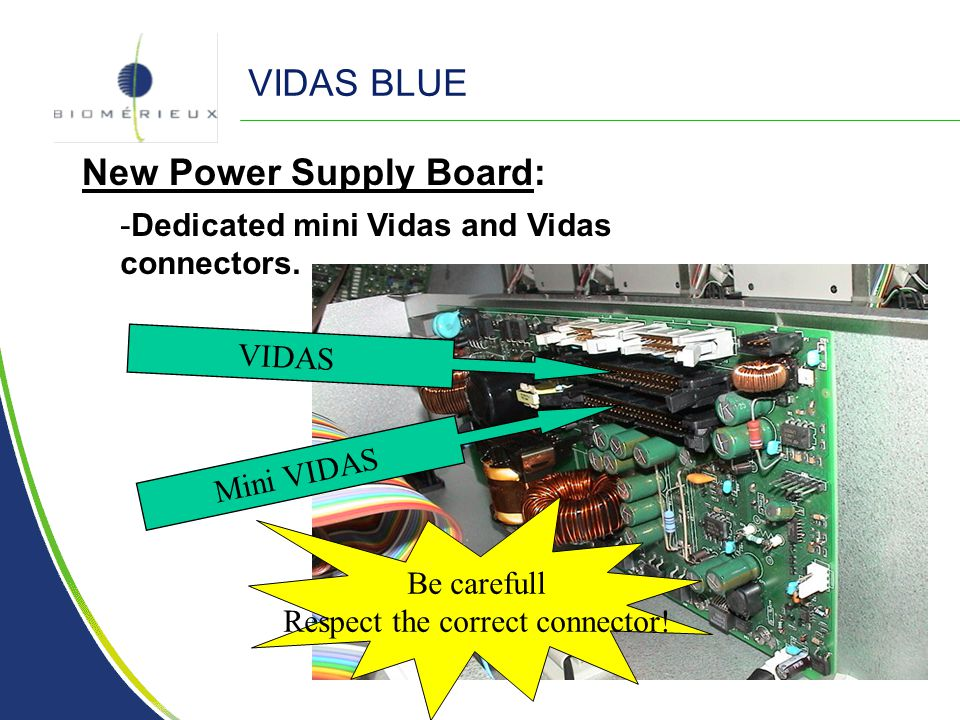 New Power Supply Board: