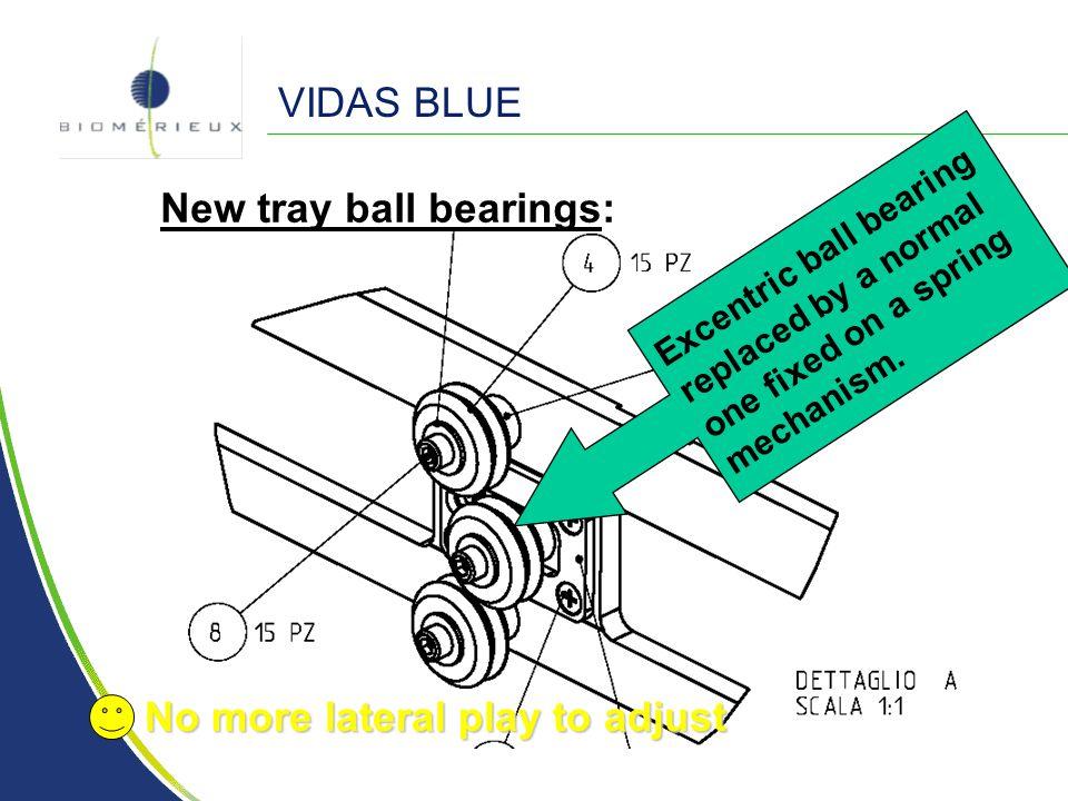 New tray ball bearings: