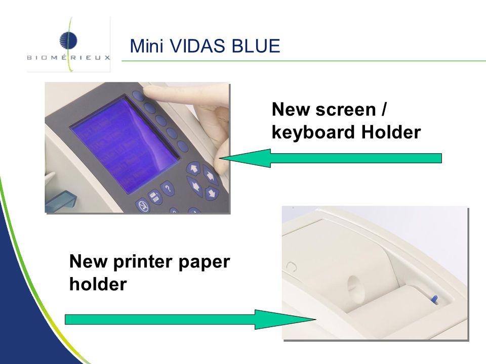 Mini VIDAS BLUE New screen / keyboard Holder New printer paper holder
