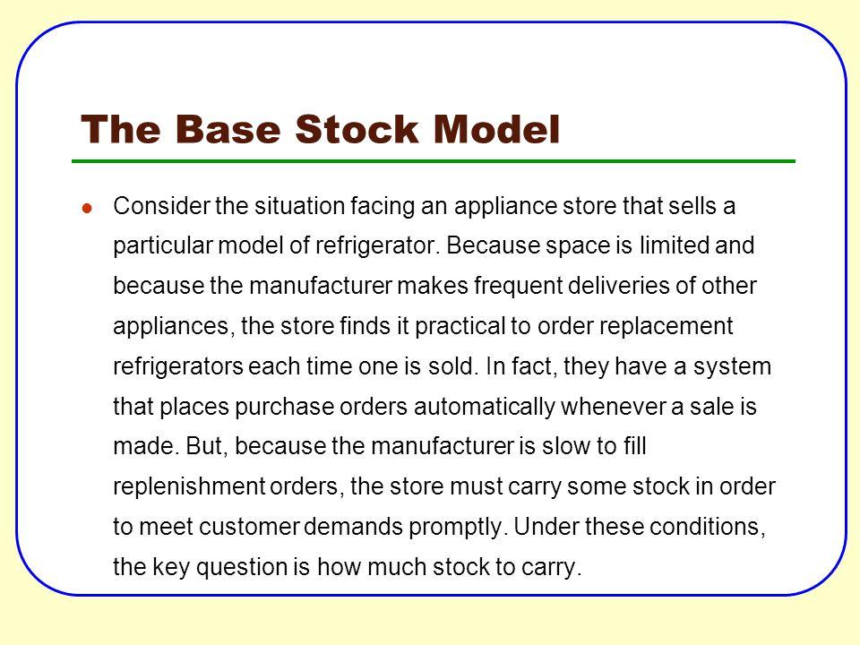 The Base Stock Model