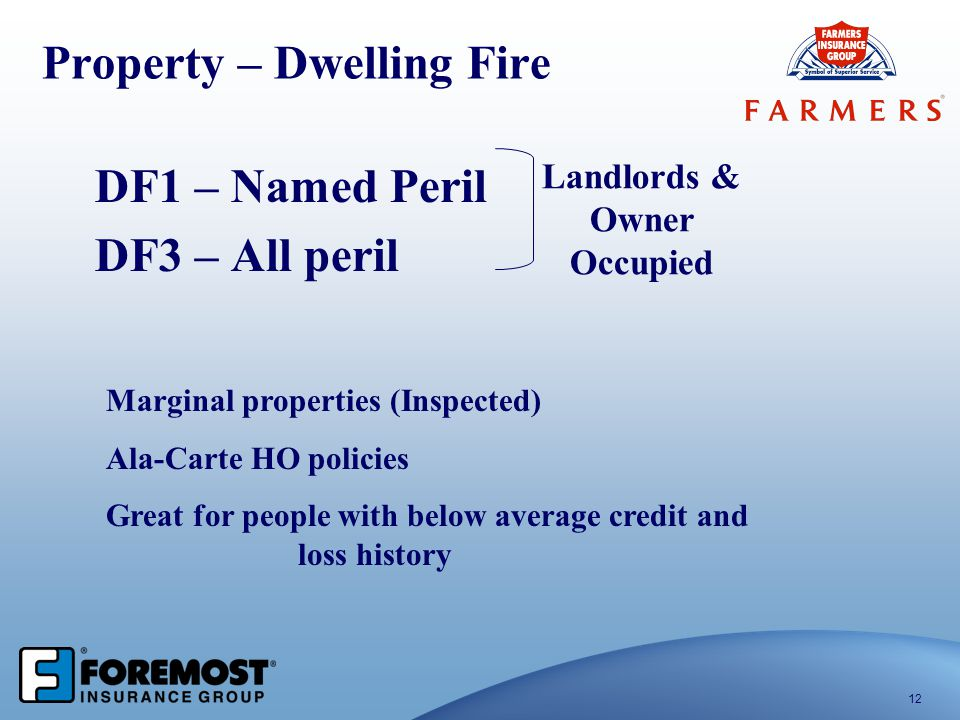 Property – Dwelling Fire