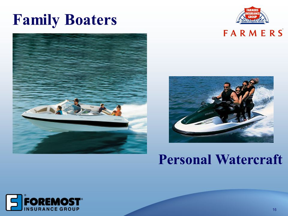 Family Boaters Personal Watercraft