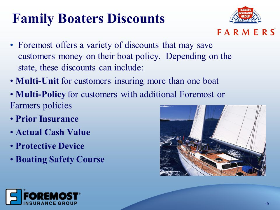 Family Boaters Discounts