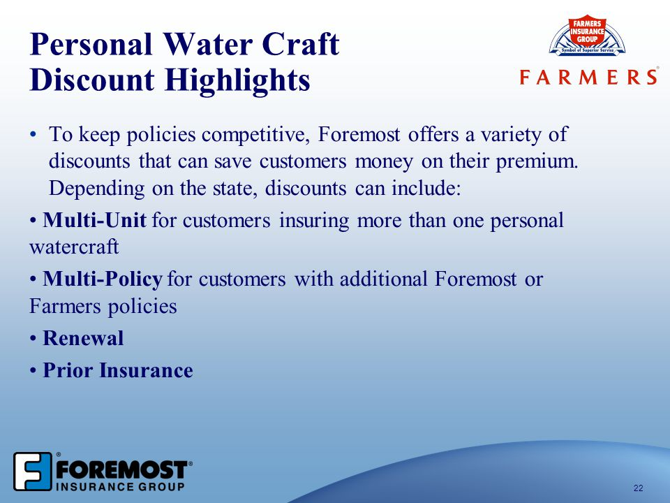 Personal Water Craft Discount Highlights