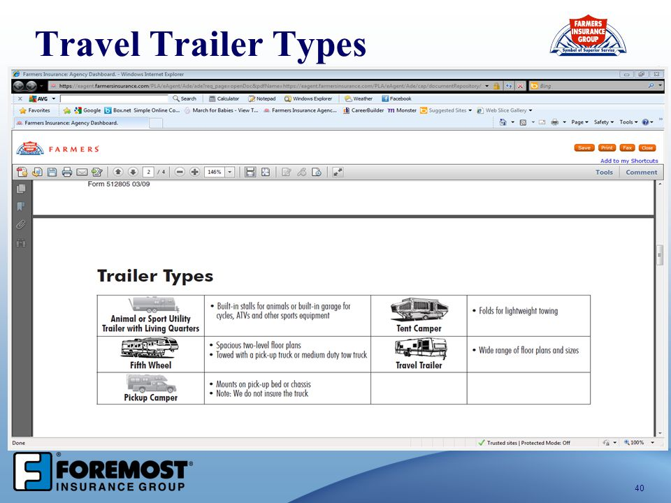 Travel Trailer Types
